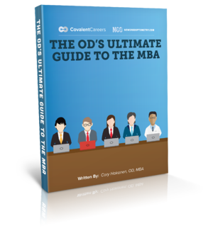 ebook mock up - The OD's Ultimate Guide to the MBA